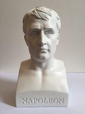 NAPOLEON BONAPARTE BUST VINTAGE STATUE SCULPTURE FIGURINE EMPEROR HISTORY ART AC for sale  Shipping to Canada