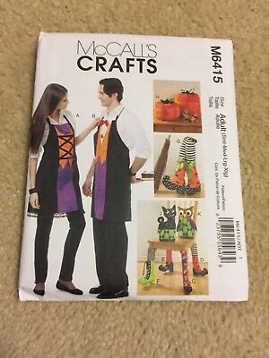 McCalls Crafts pattern M6415 adult Halloween crafts uncut - Adult Halloween Crafts
