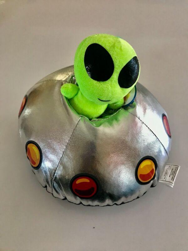 UFO with Alien Plush NANCO Item #PF-ALS20