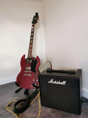 Epiphone SG Standard Electric Guitar + Marshall Code 25 Amp