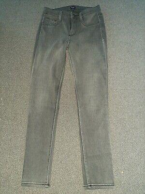 Skinny Grey Legging Jeans By Gap, Size 8