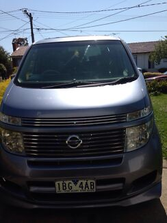 Nissan Elgrand highway star 2002 good condition low km Doveton Casey Area Preview