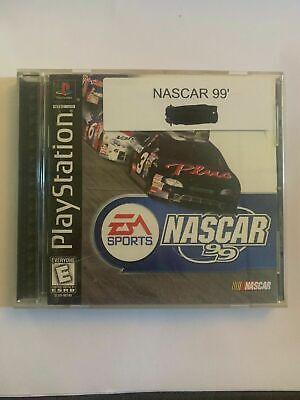NASCAR 99 - PS1 - COMPLETE W/ MANUAL - FREE S/H - (B41A) comprar usado  Enviando para Brazil