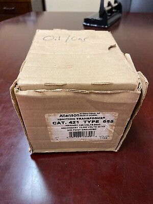 Allanson Ignition Transformer Cat-421 Type-665