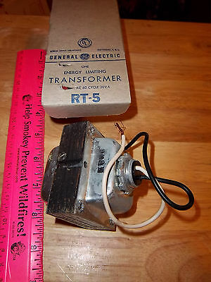 General Electric Transformer Energy Limiting Rt-5 115-24v Ac 60 Cycle 20v A