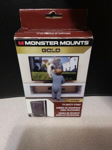 New Sealed Monster Mounts TV Safety Strap MTS11 S-3