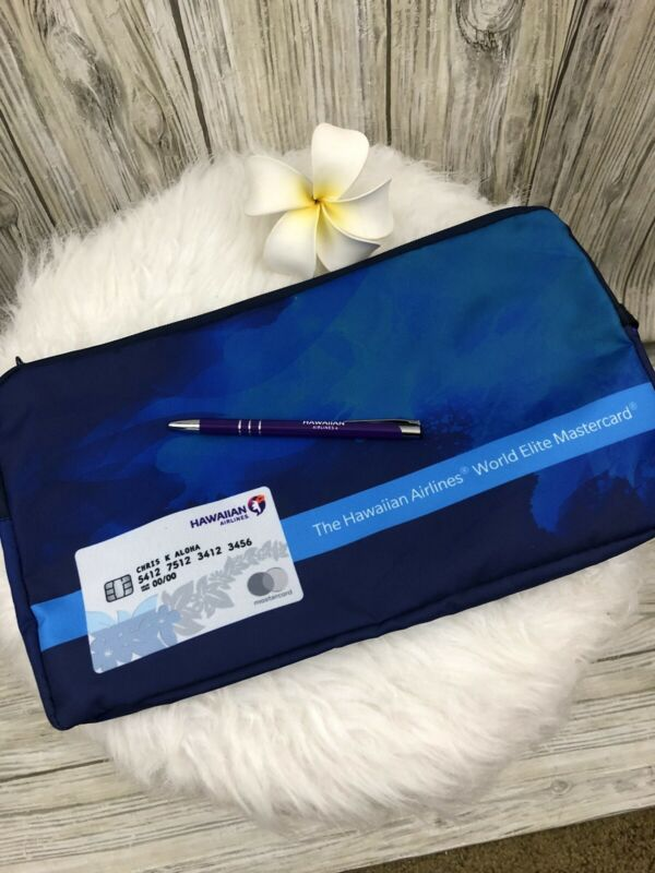 Hawaiian Airlines Accessory Large Pouch And Pen