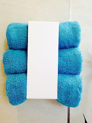 Handtuchhalter Regal Bad Metall weiß WC Geschenk Sauna Hotel Gastro Spa Dusche ()
