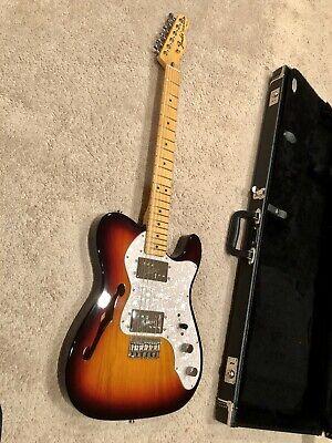 Fender FSR American Vintage 72 Telecaster Thinline Lollar Regals Electrosocket
