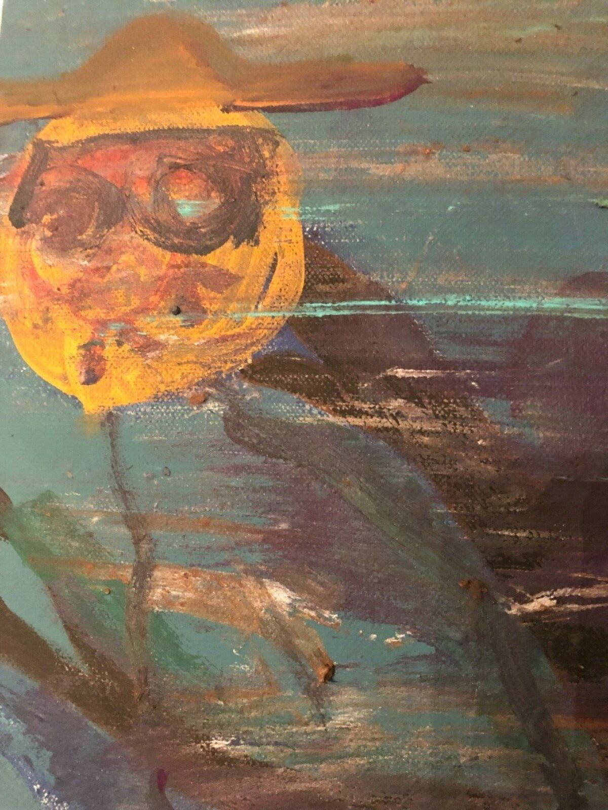 Paul Parris Outsider Art Expressionist Picasso Dali Graffiti Miro Chagall Keil - $59.00