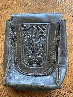 Vintage Amity Leather Cigarette Case
