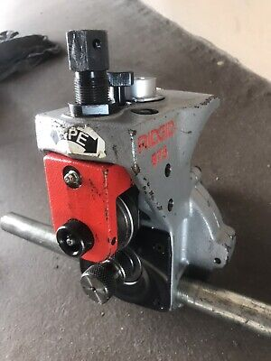 Ridgid 975 Roll Groover W Ratchet Included For 300 Pipe Threader Excellent Cond