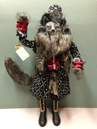 """Mark Roberts 27.5"""" Standing Black Cat Limited Edition, LE #53/400 NEW"""
