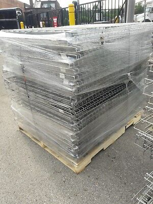 Pallet Rack Wire Decking 58 X 42 Silver