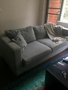 Amazing grey couch Elwood Port Phillip Preview