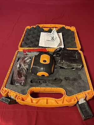 Acculine Pro 40-6680 Self Leveling Laser Level W Case Accessories