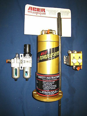 Maxi Torque Air Power Drawbar For Dpm-sx2 Trak R8 Tr-100 With Db-360
