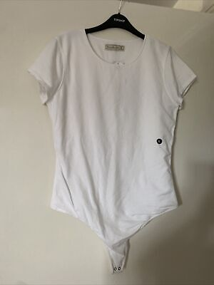 abercrombie and fitch white body size XL