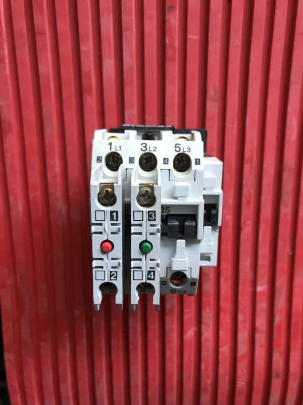 USED FULLY Functional Danfoss Contactor CI 25 / 40 amp / 110 volt coil/  2 - aux
