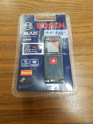 Bosch 65 Ft. Laser Distance Measure Blaze Glm20x