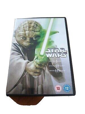 Star Wars Trilogy: Episodes I, II and III UK DVD (2013)
