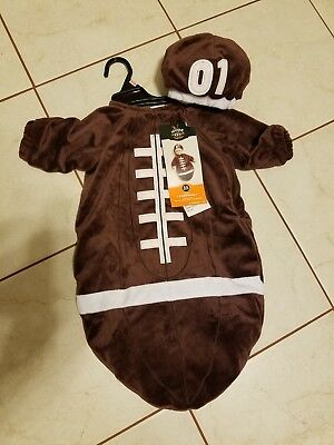 Halloween Costume Infant Football Hyde and EEK! Size 0-6 months](Football Infant Costume)