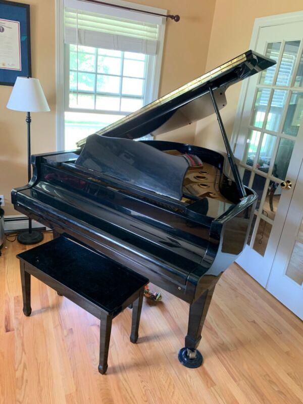 Young Chang Grand Piano - Ebony Finish