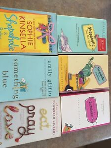 Shopaholic books etc