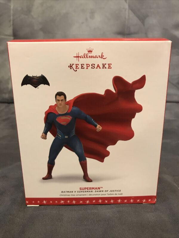 2016 Hallmark Keepsake Batman V Superman Dawn Justice Superman Ornament (2020)