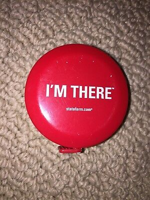 State Farm Insurance Measuring Tape Im There Logo