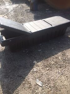 Plastic tough box for a truck $40