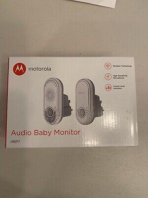 Motorola MBP7 Baby Monitor - White