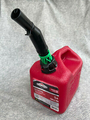 Briggs Stratton Plastic Gas Can Gasoline Fuel Jug No Leaks New