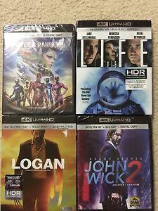 4k+Blu ray+Digital  movies