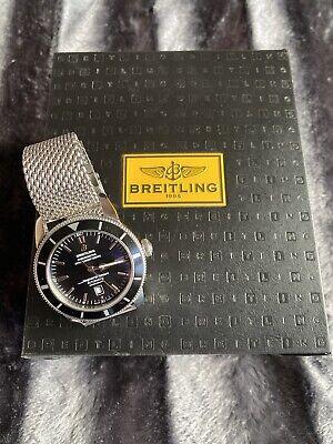 Breitling Superocean Heritage Men's Black Watch - AB2030121B1A1