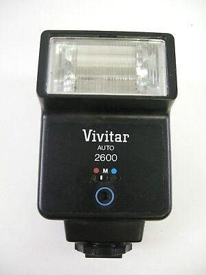 Vivitar Auto 2600 Flash