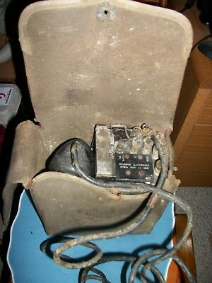 OLD, Ham Radio- Telephone with Old magneto,,Rotary Phone Parts, Parts!