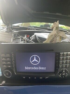 Mercedes W164 ML X164 GL Monitor Display Comand NTG 2 Bitte Lesen