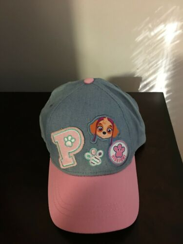 BRAND NEW TODDLER GIRLS NICKELODEON PAW PATROL BALL CAP ONE SIZE FITS MOST