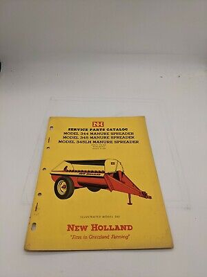 New Holland Service Parts Catalog 344 Manure Spreader 345 12-65