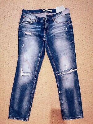 Ladies Zara Distressed Boyfriend Zara Jeans Size 10