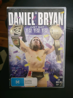 WWE Daniel Bryan Just Say Yes! Yes! Yes! 3 Disc DVD