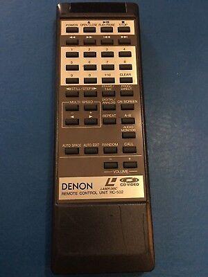 DENON 4990153005 RC-502 Remote Control for LA-3000 w/battrs