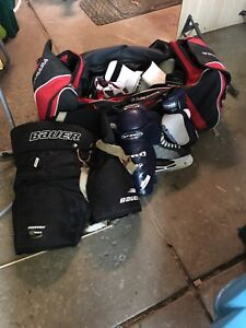 Men's hockey equipment full set