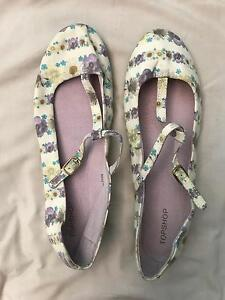 Top shop Mary Jane flats 38 Karnup Rockingham Area Preview