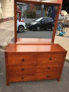 Dresser, drawers, dresser with mirror, bedroom  WE CAN DELIVER Brunswick Moreland Area Preview