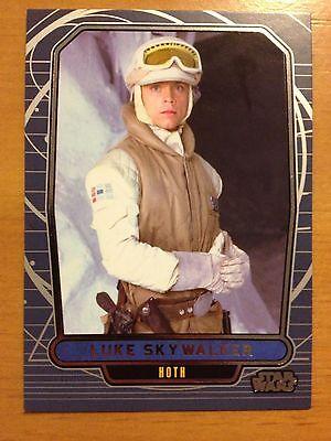 Star Wars 2012 Galactic Files 2 #481 Luke Skywalker Hoth Mint