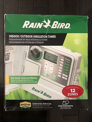 Rain Bird 12-Station Indoor/Outdoor Irrigation / Sprinkler Timer (SST120)