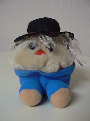 Puffkins Plush PATCHES Scarecrow #6695 SWIBCO Birthdate 10-31-99 NWT Ltd Edition