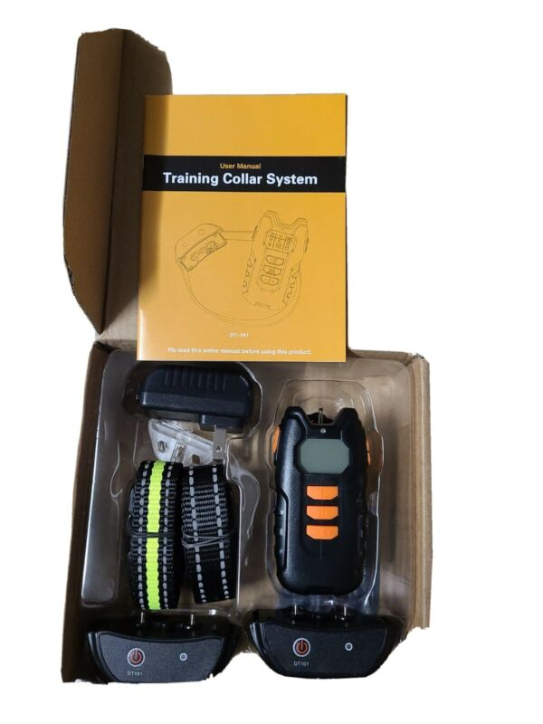 Multi-Dog Double Training System Rechargeable & Waterproof